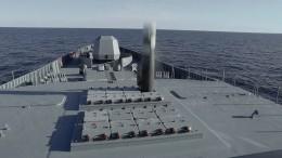 Минобороны РФпоказало навидео пуск гиперзвуковой ракеты «Циркон»