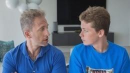 «Сегодня этому крутышу 16»: Оскар Кучера похвастался успехами сына