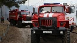 Наместо ЧПвРязанской области вылетел министр МЧС России