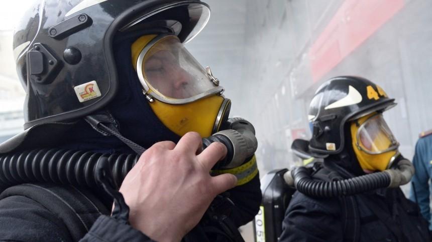 Здание, вкотором хранятся литиевые аккумуляторы, загорелось вМоскве