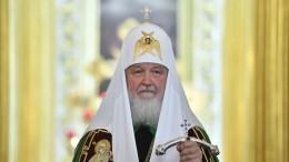 Патриарх Кирилл ушел насамоизоляцию после контакта сбольным COVID-19
