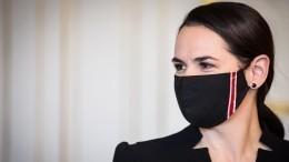 МВД объяснило причину включения Тихановской вбазу розыска поРоссии