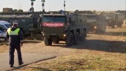 Пожар наскладе боеприпасов ВРязанской области локализовали