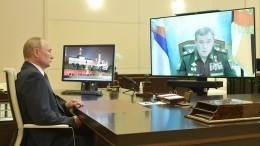 Глава МЧС России отчитался Путину обэвакуации 2300 человек под Рязанью