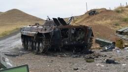 Трое россиян пострадали при обстреле храма вКарабахе