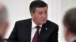 Президент Киргизии готов оставить свой пост, как только страна встанет напуть законности