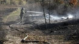 Режим ЧСиз-за пожара наскладе боеприпасов отменяют под Рязанью