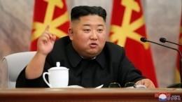 Ким Чен Ынпоявился напараде вчесть 75-летия северокорейской Трудовой партии