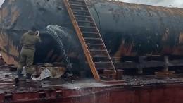 Расследование факта разлива нефти вКрасноярске Бастрыкин взял под личный контроль