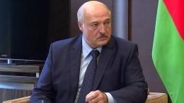Главы МИД Евросоюза согласовали санкции против Александра Лукашенко
