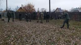 Кадры сместа обнаружения тела нижегородского стрелка— видео ифото