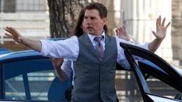 Том Круз устроил гонки поулицам Рима для фильма «Миссия невыполнима 7»— видео