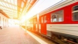 Видео: поезд протащил зажатого дверьми ребенка поплатформе вМытищах