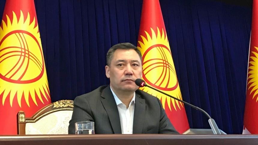 Премьер-министр Киргизии объявил, что получил полномочия президента страны