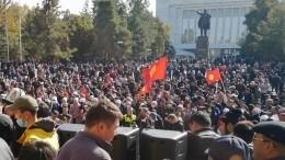 ВКремле отметили важность любых действий, стабилизирующих ситуацию вКиргизии