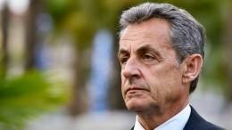 Саркози предъявлены обвинения вучастии впреступном сообществе