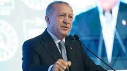 Эрдоган обвинил Россию, США иФранцию впоставках оружия Армении