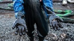 Из-за разлива нефти вреспублике Коми введен режим ЧС