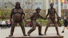 Памятник Балбесу украли вЛенинградской области