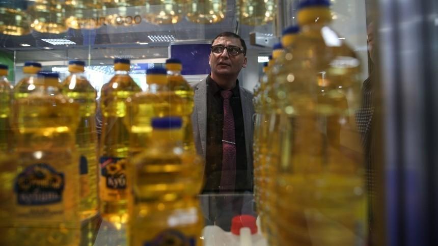 Цены наподсолнечное масло вРоссии побили рекорд