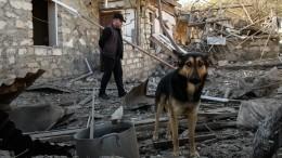 Начиненный взрывчаткой дрон сбили вкарабахском Степанакерте— видео, фото