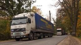 Выезд изРоссии грузовиков иавтобусов сзарубежными номерами хотят блокировать