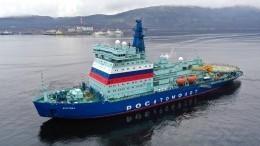 Самый большой имощный вмире ледокол «Арктика» введен встрой