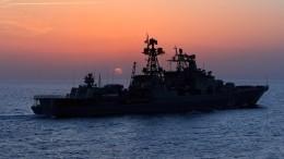 Морской бой: вСирии прошли учения российских военных кораблей