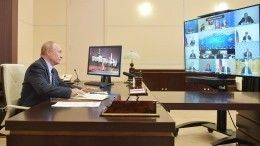 Путин исключил жесткие ограничения вРоссии из-за коронавируса