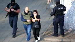 Полиция вгрузинском Зугдиди освободила 43 заложника