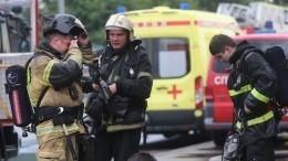Десятки человек эвакуированы из-за пожара вкадетском корпусе под Ярославлем