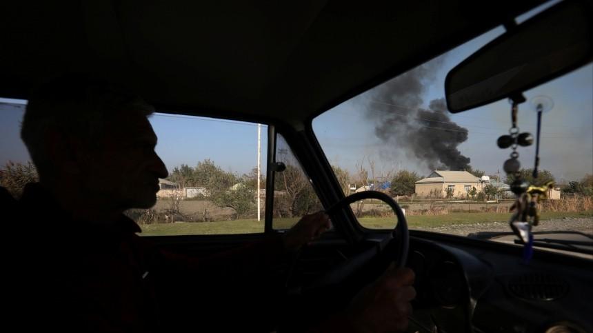 МОАзербайджана: стерритории Армении были выпущены баллистические ракеты