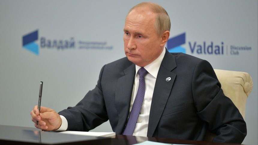 Путин ответил навопрос освоем президентстве