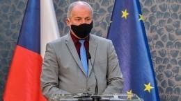 После ужина— вотставку: глава Минздрава Чехии нарушил свой указ вразгар COVID