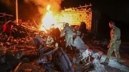 Последствия ночного обстрела Степанакерта— эксклюзивные кадры