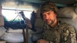 Жена спасла отсмерти воевавшего заукраинских карателей актера Пашинина