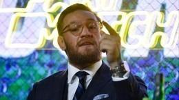 «Вызнаете, что ждет после»: Макгрегор обратился кНурмагомедову иГэтжи