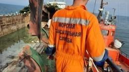 Отвзрыва разворотило всю палубу— фото станкера «Генерал Ази Асланов»