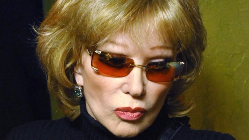Бывший муж Гурченко прокомментировал слухи оромане Высоцкого сего женой