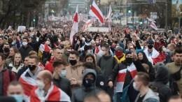 Более ста человек задержаны входе протестов вМинске —видео