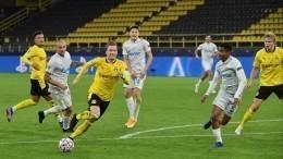 «Зенит» уступил «Боруссии» вматче группового этапа Лиги чемпионов