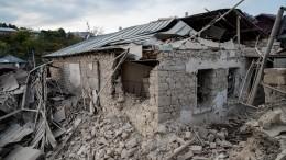 МИДы РФиФранции заявили онеобходимости прекратить боевые действия вКарабахе