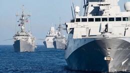 Черноморский флот начал следить загруппой кораблей ВМС НАТО