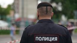 Подросток наPorsche протаранил полицейские авто вИнгушетии