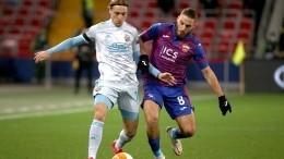 ЦСКА сыграл вничью сзагребским «Динамо» вматче Лиги Европы