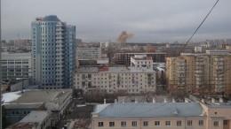 Взрыв прогремел вцентре Челябинска