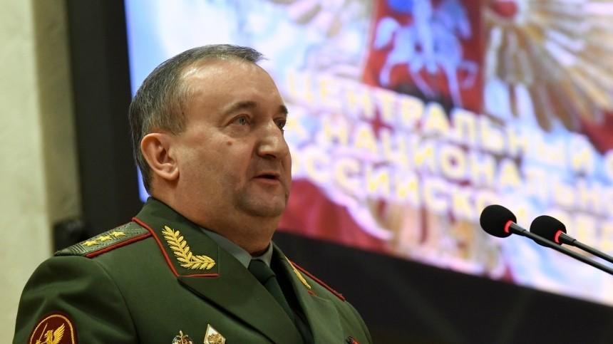 Путин освободил отдолжности начальника Главного штаба войск Нацгвардии РФ