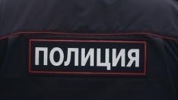 Видео момента нападения вооруженного злоумышленника наполицейских вМоскве