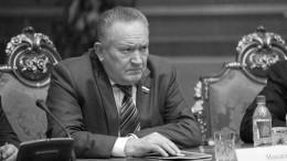 Умер инфицированный СОVID-19 экс-губернатор Волгоградской области