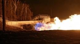 Магистральный газопровод загорелся вЯНАО